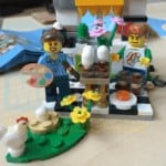 Lego Painting Easter Eggs Set 40121 Just Finished