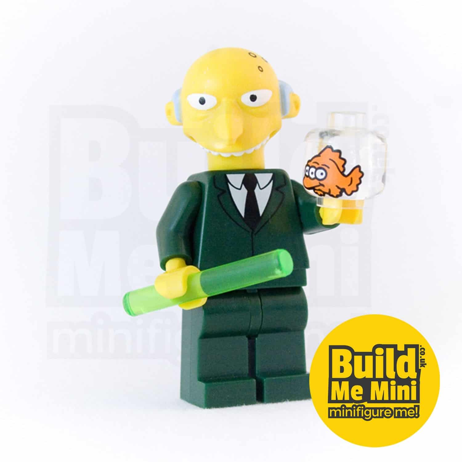 LEGO Mr Burns Simpsons Minifigure