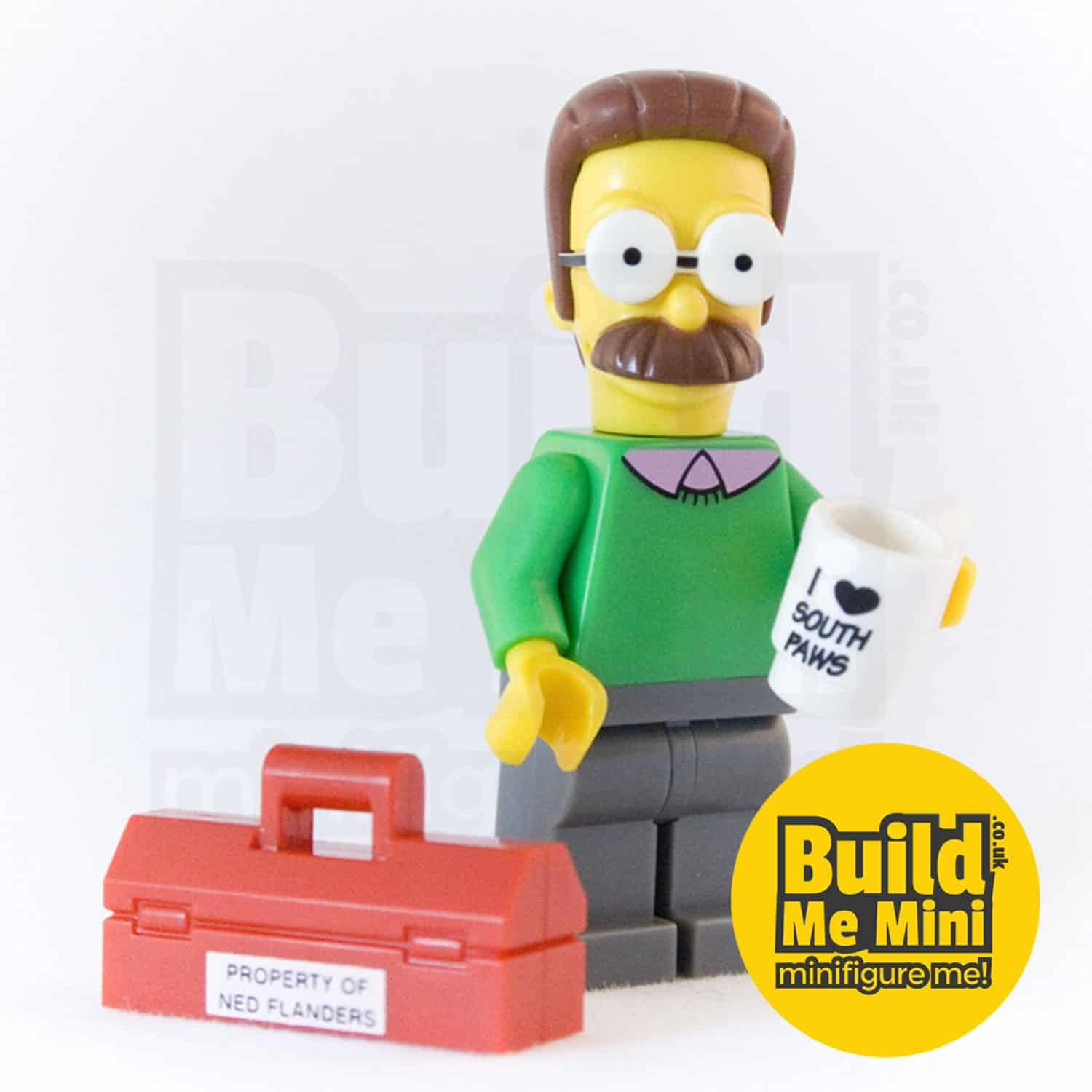 LEGO Simpsons Ned Flanders Minifigure
