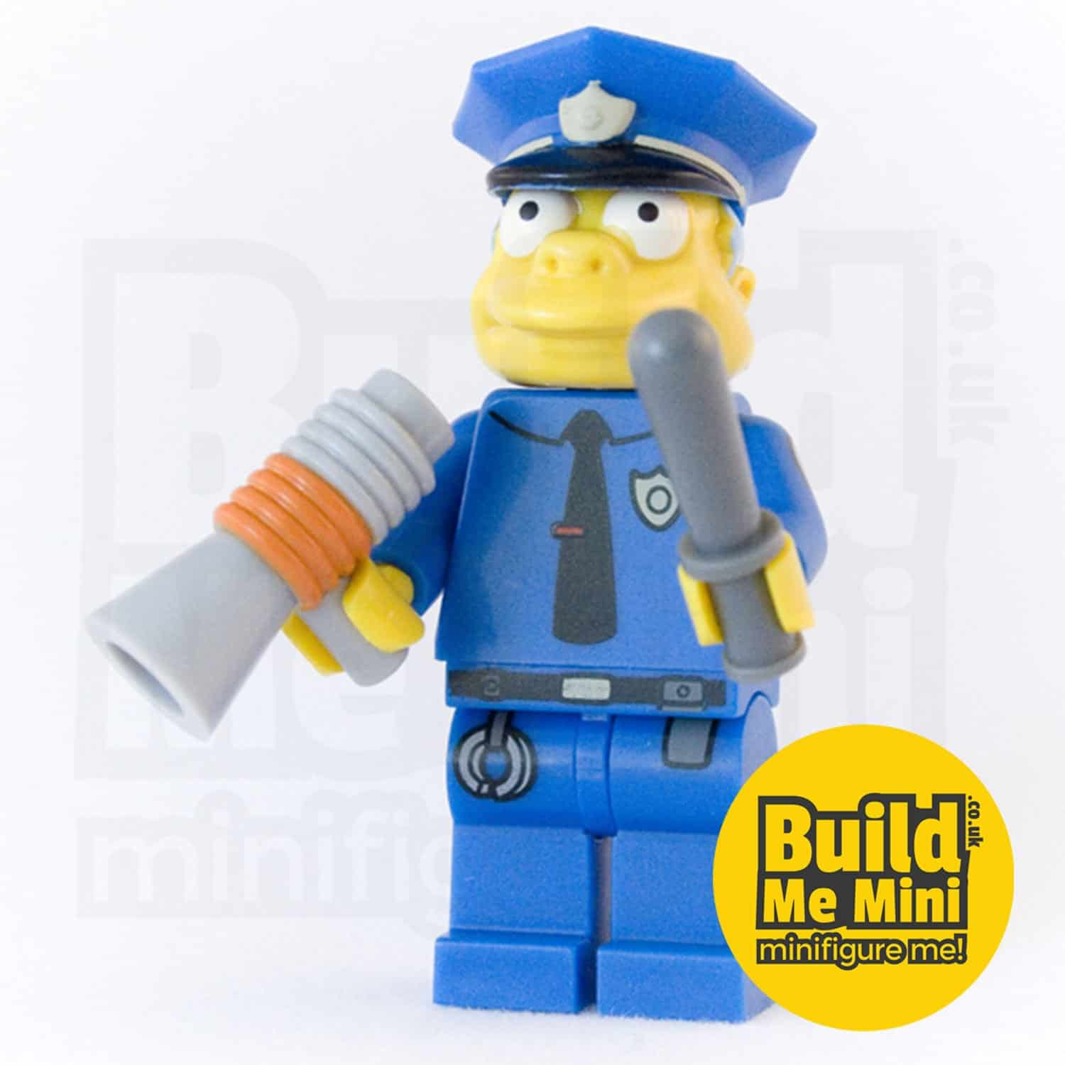 LEGO Chief Wiggum Simpsons Minifigure