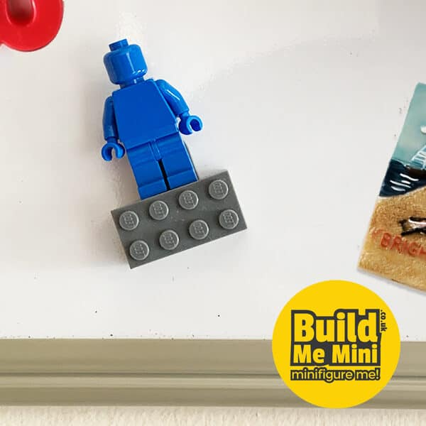 Dark Bluish Grey Lego Fridge Magnet Minifigure Stand Any quantity available