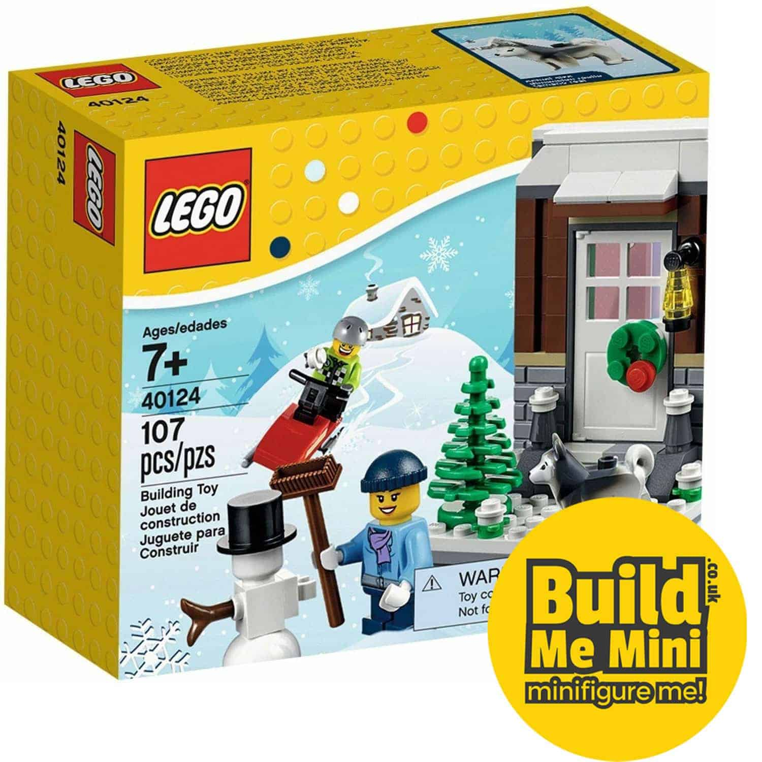 LEGO Winter Scene 2015 Seasonal LEGO Set 40124