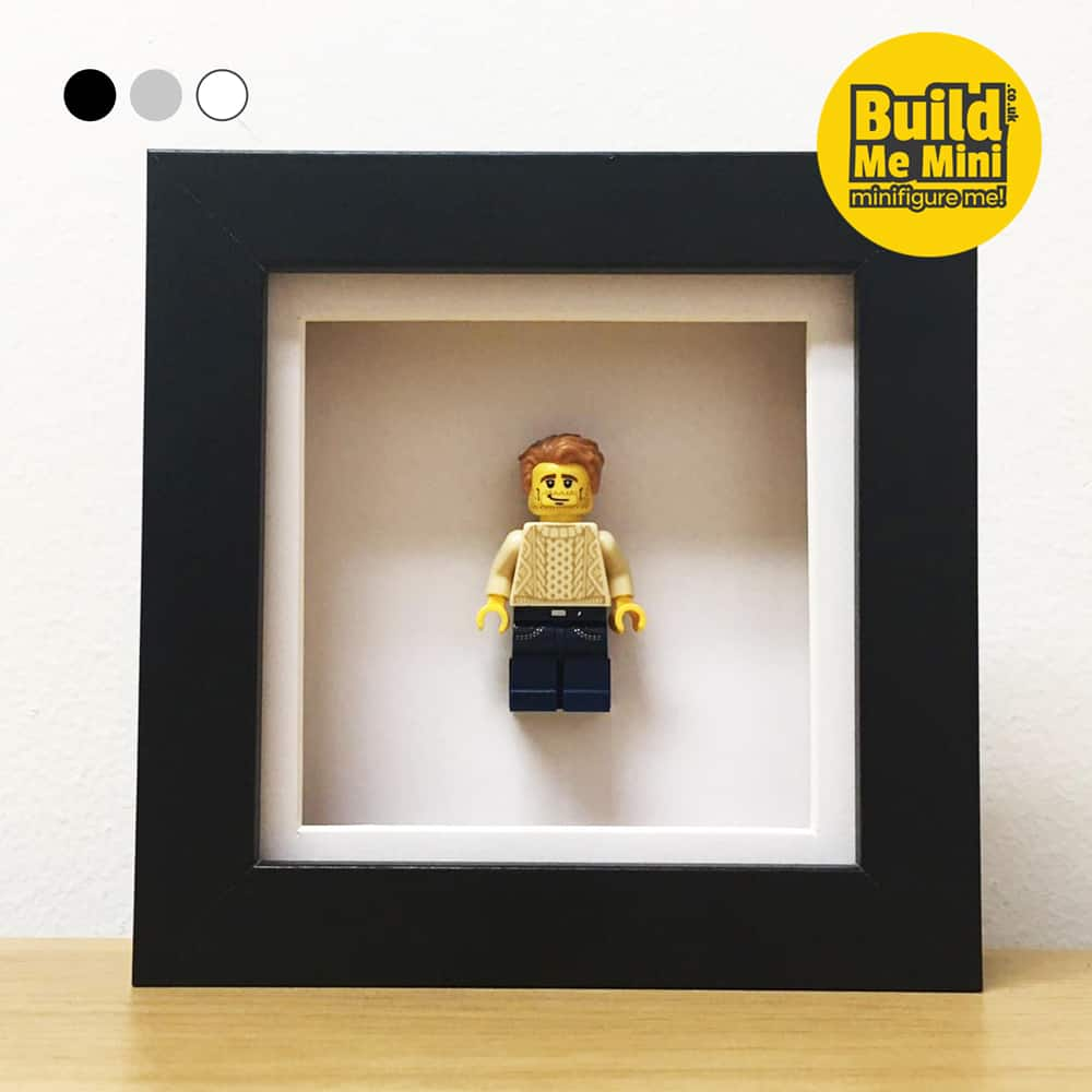 Mini LEGO® Minifigure Display Frame in 3 Colours