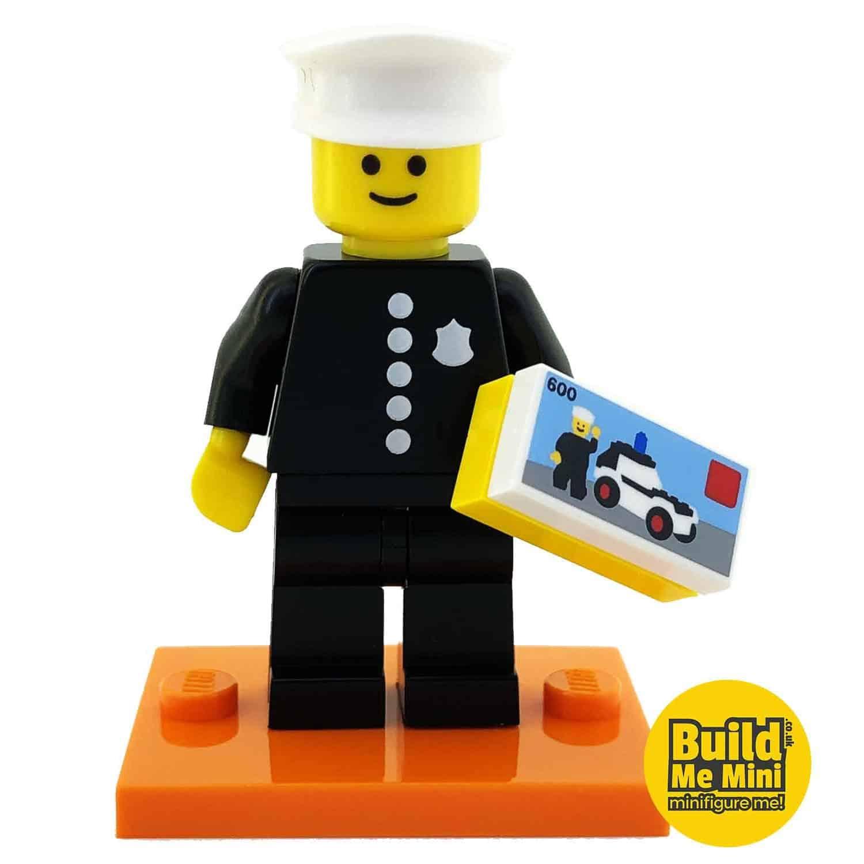 LEGO Series 18 CMF Classic Policeman Minifigure