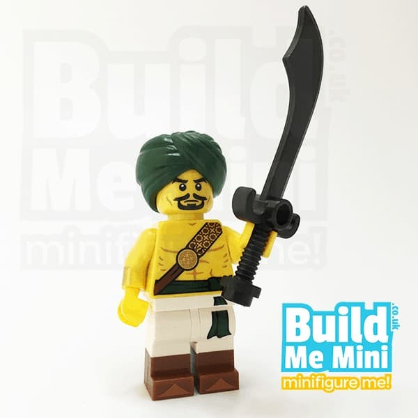LEGO Desert Warrior Minifigure Series 16