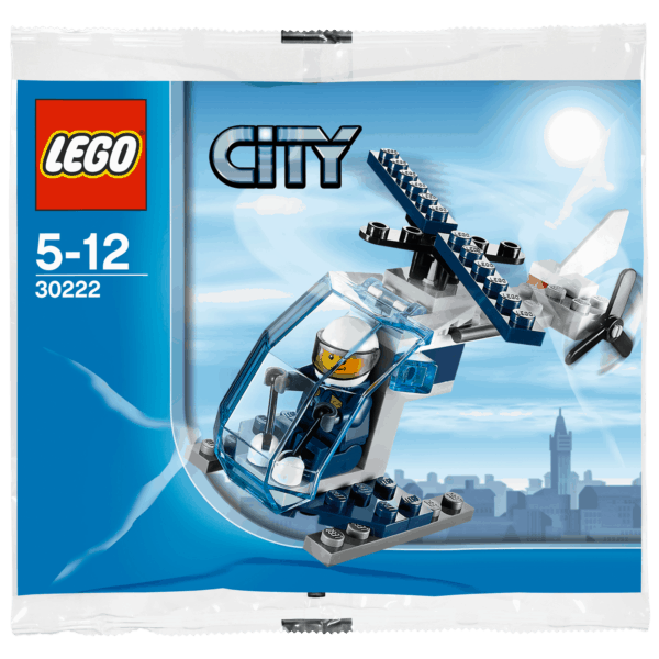 LEGO Set 30222 City Police Helicopter Polybag