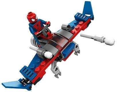 LEGO Set 30163 Marvel Ultimate Spiderman Minifigure and Glider Polybag