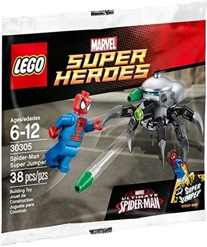 LEGO Set 30305 Marvel Ultimate Spiderman Super Jumper Minifigure and Droid Polybag