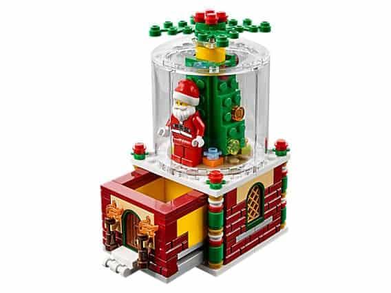 LEGO® Snow globe 2016 Seasonal Set 40223 Limited Edition