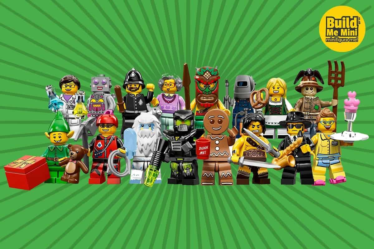 Lego Minifigures Series 11 | Build Me Mini