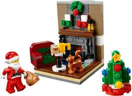 LEGO Christmas Santa Scene 2015 Seasonal LEGO Set 40125