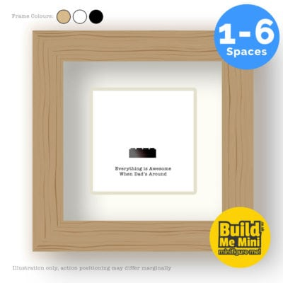 Personalised Frame for LEGO Minifigures