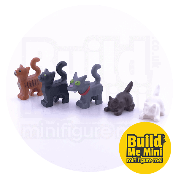 LEGO Minifigure Scale Cat