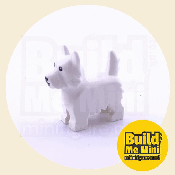 LEGO Minifigure Scale Dog