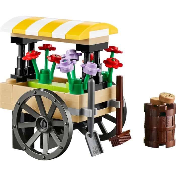 LEGO Set 40140 City Flower Cart Polybag