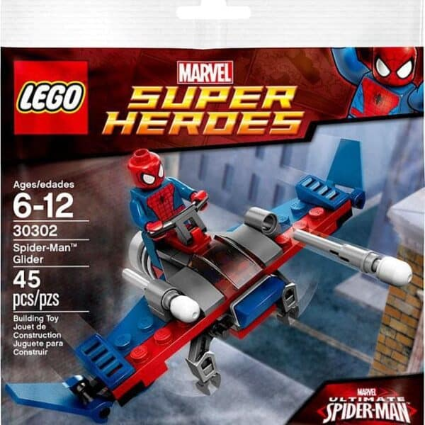 LEGO Set 30163 Marvel Ultimate Spiderman Minifigure and Glider Polybag