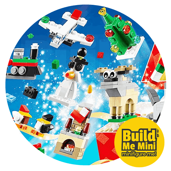 LEGO Set Christmas Calendar 24 in 1 Mini Sets (2016)