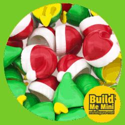 LEGO Minifigure Christmas Hats