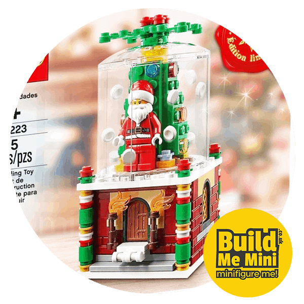 LEGO® Snow globe 2016 Seasonal Set 40223 Limited Edition