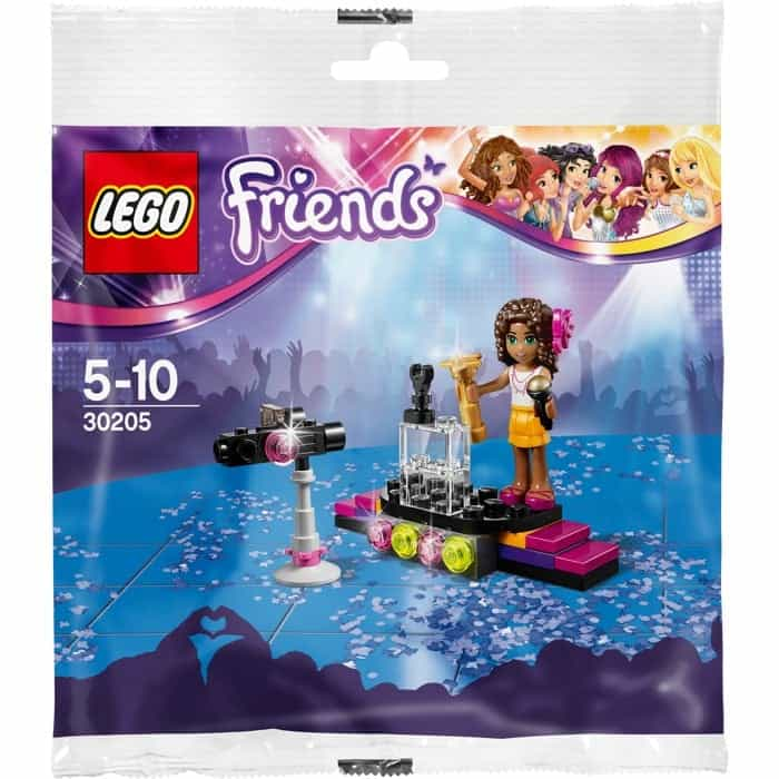 LEGO Set 30205 Friends - Pop Star with Andrea inc Minifigure Set Polybag