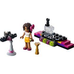 LEGO Set 30205 Friends - Pop Star with Andrea inc Minifigure Set Polybag