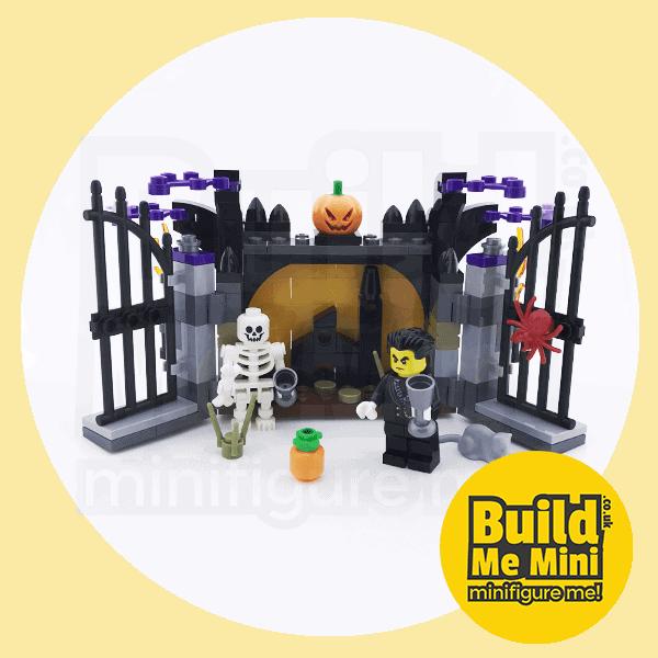 2017 Seasonal LEGO Set 40260 Halloween Haunt