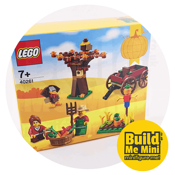 2017 Seasonal LEGO Set 40261 Thanksgiving Harvest