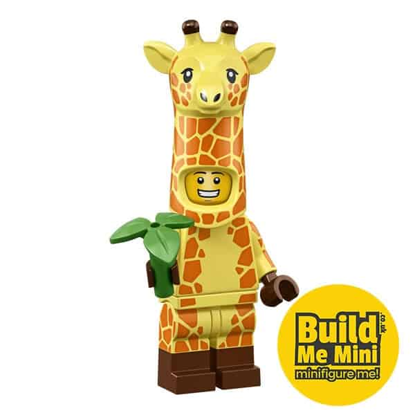 LEGO Movie 2 Minifigures Series Giraffe Suit Guy