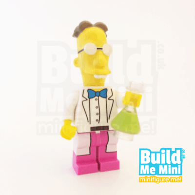 LEGO Simpsons Professor Frink Minifigure