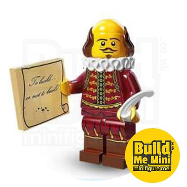 LEGO Movie Minifigures Series – William Shakespeare – 71004