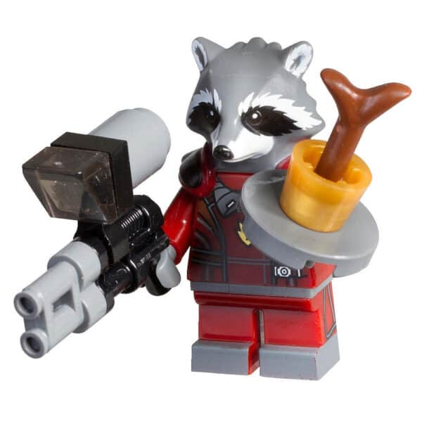 LEGO Set 500214 Marvel Rocket Racoon and baby Groot Minifigure Polybag