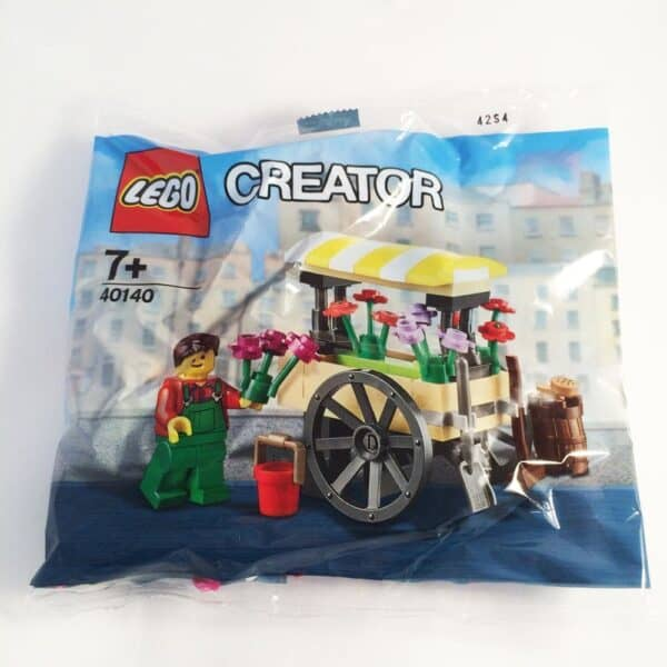 LEGO Set 40140 City Flower Cart Polybag