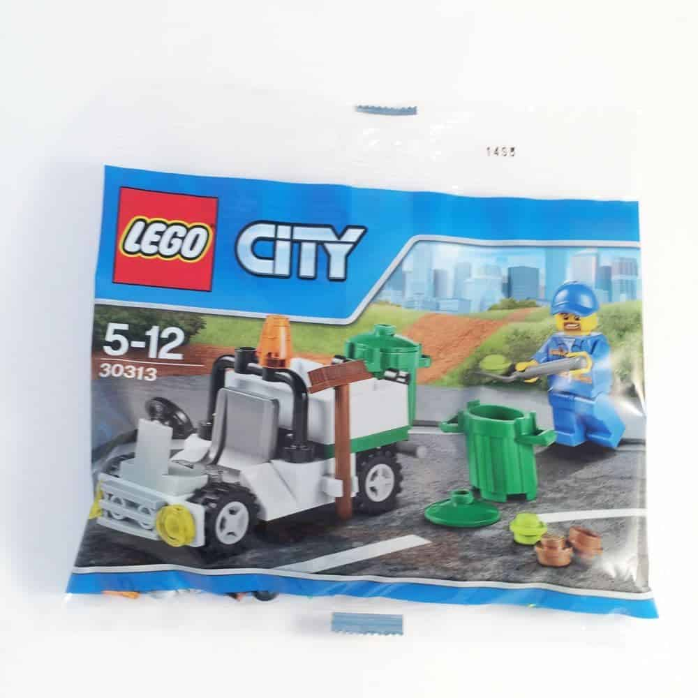 LEGO Set 30313 City Garbage Bin Truck Polybag