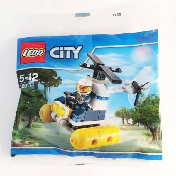 LEGO Set 30311 Swamp Police Helicopter Polybag