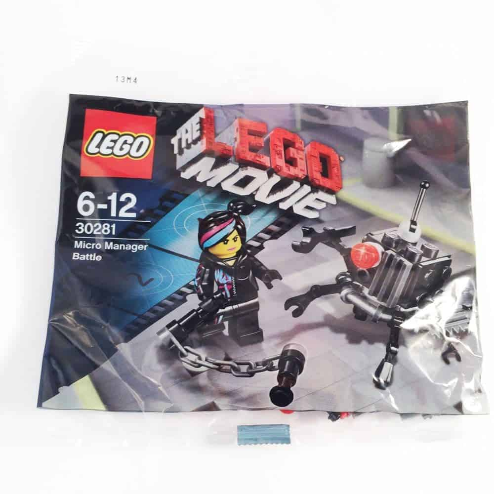 LEGO Set 30281 LEGO Movie - Micro Manager Battle Wyldstyle Fig Polybag