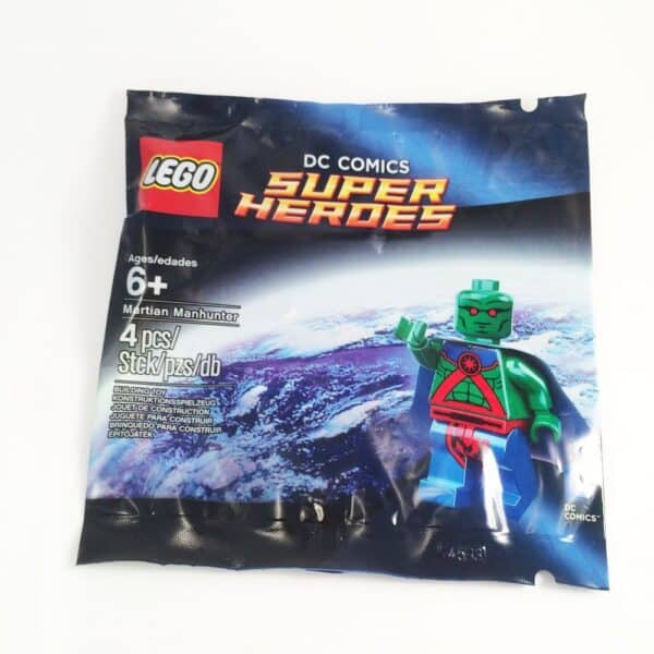 LEGO Set 5002126 DC Super Heroes Justice League Martian Manhunter Minifigure Polybag