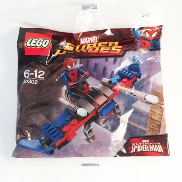 LEGO Set 30302 Marvel Spiderman Glider Minifigure Polybag