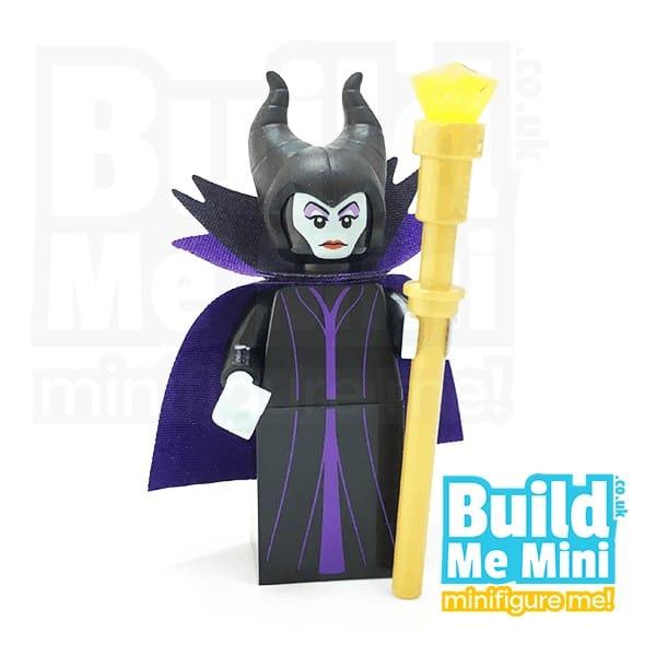 LEGO Disney Sleeping Beauty Maleficent Genie Minifigure Series 1