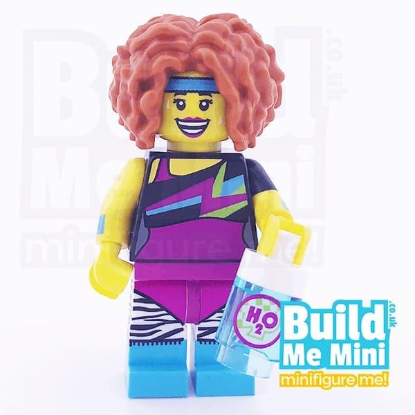 LEGO Dance Instructor Yoga Pants Collectible Minifigure Series 17