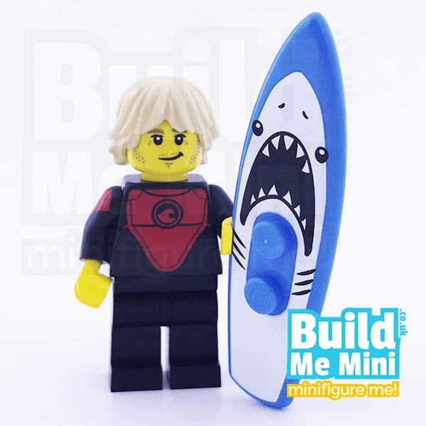 LEGO Professional Surfer Collectible Minifigure Series 17