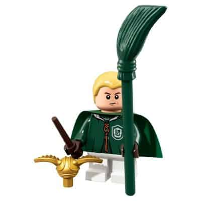 LEGO Minifigures Series Wizarding World Draco Malfoy Quidditch Kit (Harry Potter 71022)