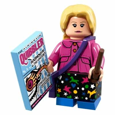 LEGO Minifigures Series Wizarding World Luna Lovegood (Harry Potter 71022)