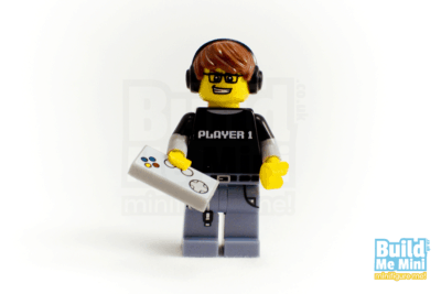 LEGO Video Game Guy Minifigure Series 12