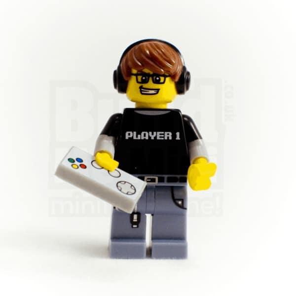 LEGO Video Game Guy Minifigure Series 12