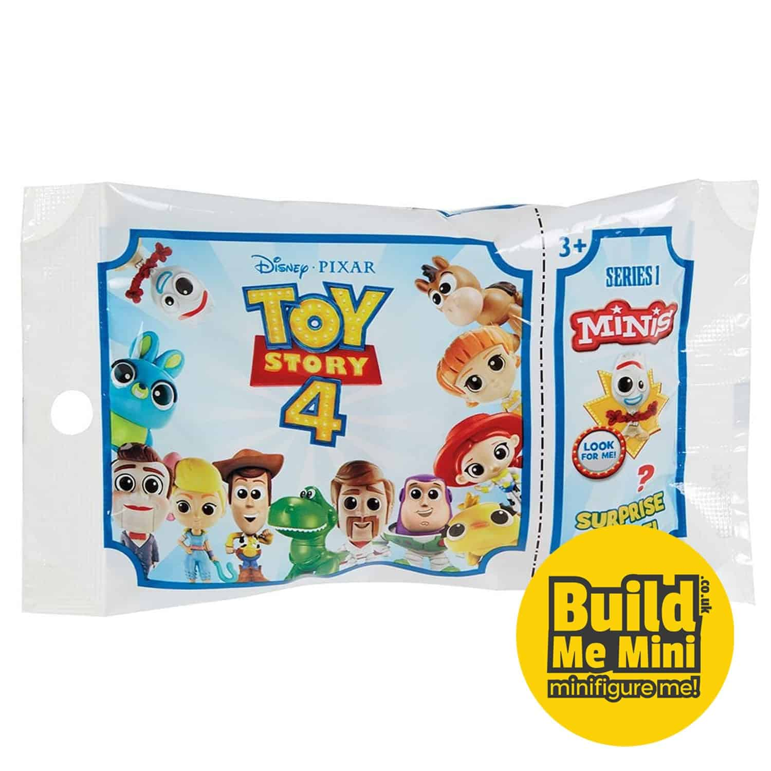 Toy Story 4 Minis Blind-Bag (Select your figure) Series 1 and 2