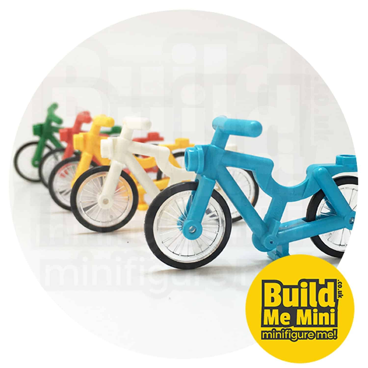 Lego Minifigure Scale Bicycle (Multiple Colours)