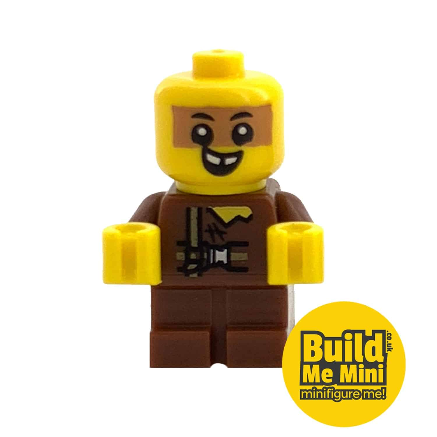 Lego Minifigure Baby – Brown Torso – Dirty Face