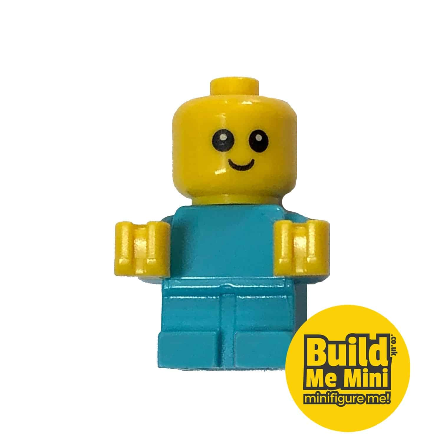 Lego Minifigure Baby – Light Teal Torso