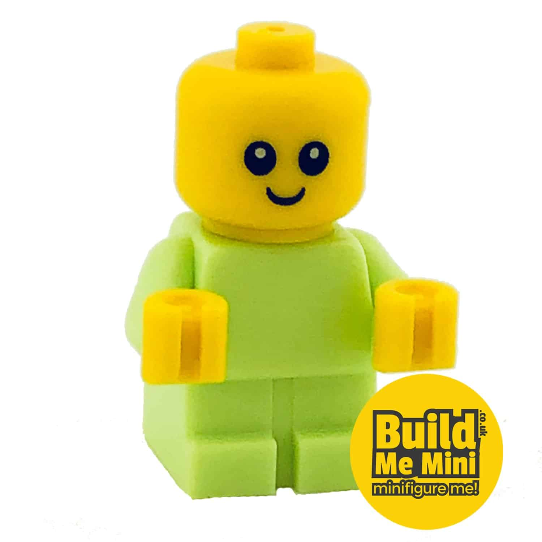 Lego Minifigure Baby – Lime Green Torso