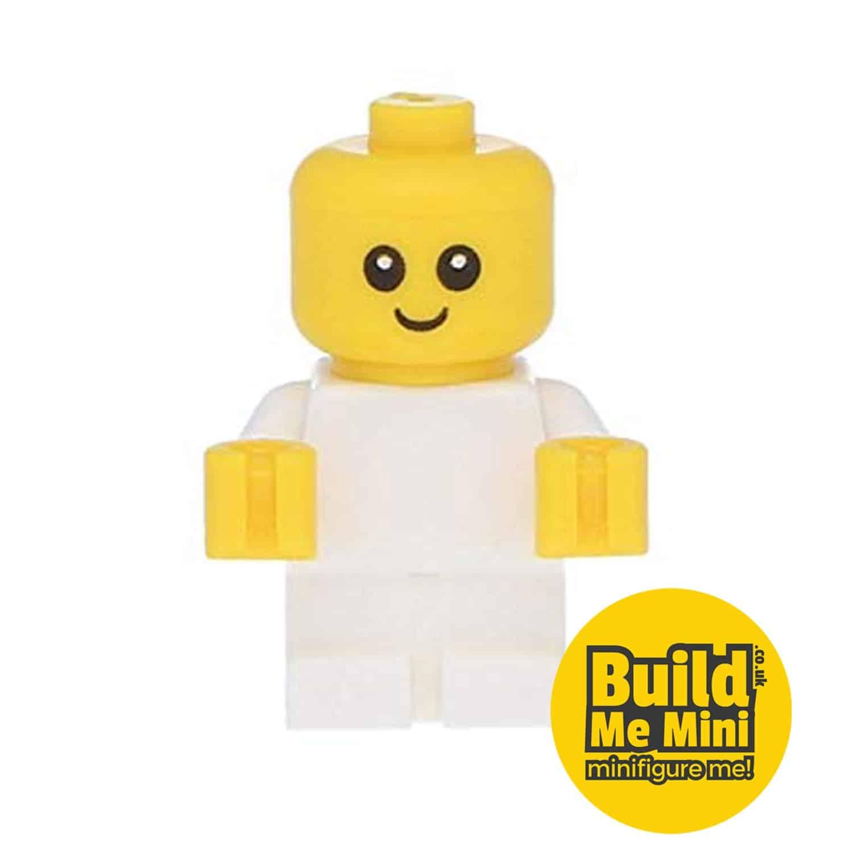 Lego Minifigure Baby – White Torso